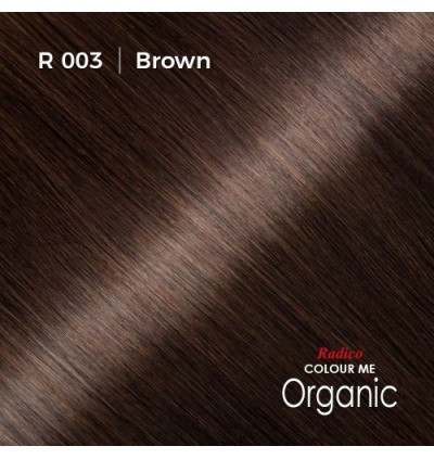 RADICO 100% CERTIFIED ORGANIC HAIR COLOUR ( BROWN )