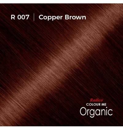 RADICO 100% CERTIFIED ORGANIC HAIR COLOUR ( COPPER BROWN )