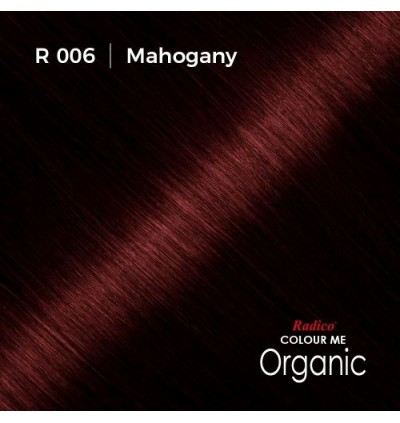 RADICO 100% CERTIFIED ORGANIC HAIR COLOUR ( MAHOGANY )